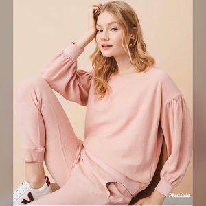 Lou&Grey Abbreviated Blouson sweatshirt